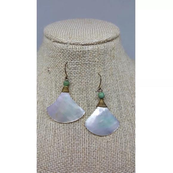 Jewelry - Shell Drop Earrings